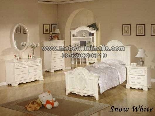 Contoh Tempat Tidur Anak Minimalis MJ-TTM 162