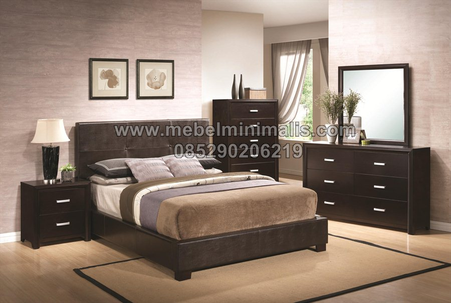 Tempat Tidur Minimalis Jati MJ-TTM 103