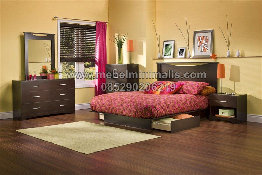 Desain Interior Tempat Tidur Minimalis MJ-TTM 233
