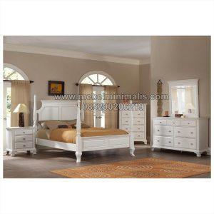 Design Tempat Tidur Jati Minimalis MJ-TTM 247