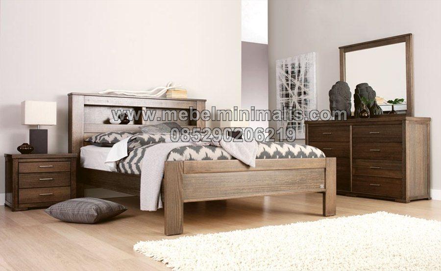 Gamabar Tempat Tidur Minimalis MJ-TTM 212