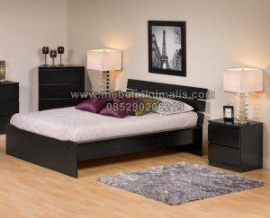 Gambar Tempat Tidur Dan Lemari Minimalis MJ-TTM 278