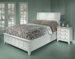Gambar Tempat Tidur Minimalis Dari Kayu Jati MJ-TTM 200