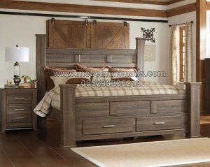Model Tempat Tidur Dan Lemari Minimalis MJ-TTM 277