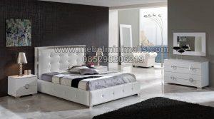 Tempat Tidur Minimalis Dari Jati MJ-TTM 174
