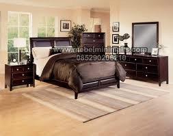 Tempat Tidur Minimalis Kayu Jati Pilihan MJ-TTM 256