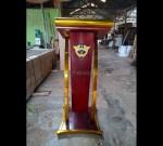 Contoh Mimbar Masjid Terbaru Desain Furniture Modern MJ PM 317