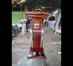 Harga Mimbar Gereja Minimalis Promo Furniture Jati MJ PM 337