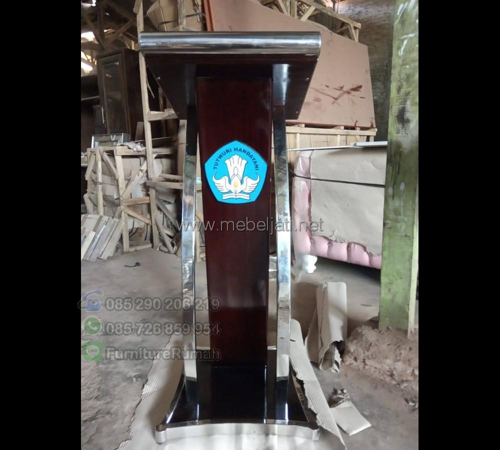 Harga Mimbar Jati Product Paling Laris MJ PM 469
