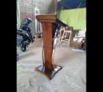 Harga Mimbar Masjid Minimalis Furniture Best Seller MJ PM 187