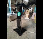 Harga Mimbar Pidato Minimalis Desain Furniture Modern MJ PM 389