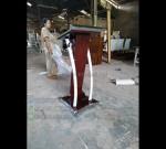 Harga Podium Stainless Steel Promo Furniture Terlaris MJ PM 198