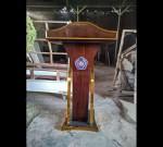 Mimbar Gereja Kaca Toko Online Furniture Minimalis MJ PM 333