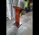 Mimbar Gereja Minimalis 085290206219 Mebel Jati MJ PM 242