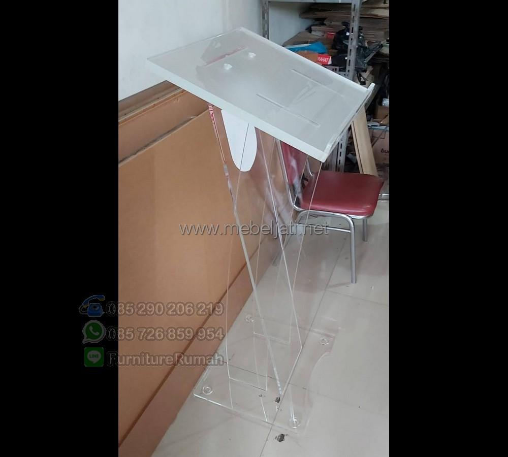 Mimbar Gereja Minimalis Toko Online Furniture Minimalis MJ PM 573