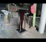 Mimbar Masjid Minimalis Hpl Furniture Stock Kode MJ PM 104
