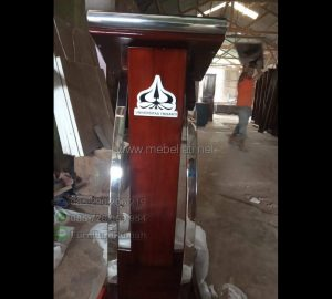Mimbar Masjid Stainless Ready Order 085290206219 MJ PM 515