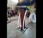 Mimbar Minimalis Masjid Model Produk Terbaru MJ PM 196