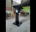 Mimbar Minimalis Stainless Asli Furniture Jepara MJ PM 119