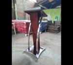 Mimbar Pidato Minimalis Asli Furniture Jepara MJ PM 167