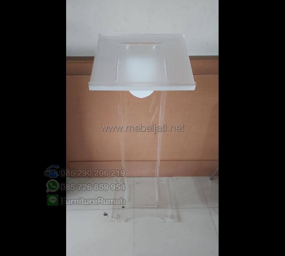Mimbar Pidato Minimalis Desain Paling Laku MJ PM 572