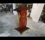 Mimbar Podium Gereja Produk Mebel Jepara MJ PM 240