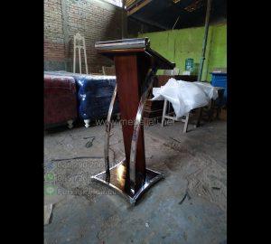 Podium Kayu Jati Furniture Best Seller MJ PM 139